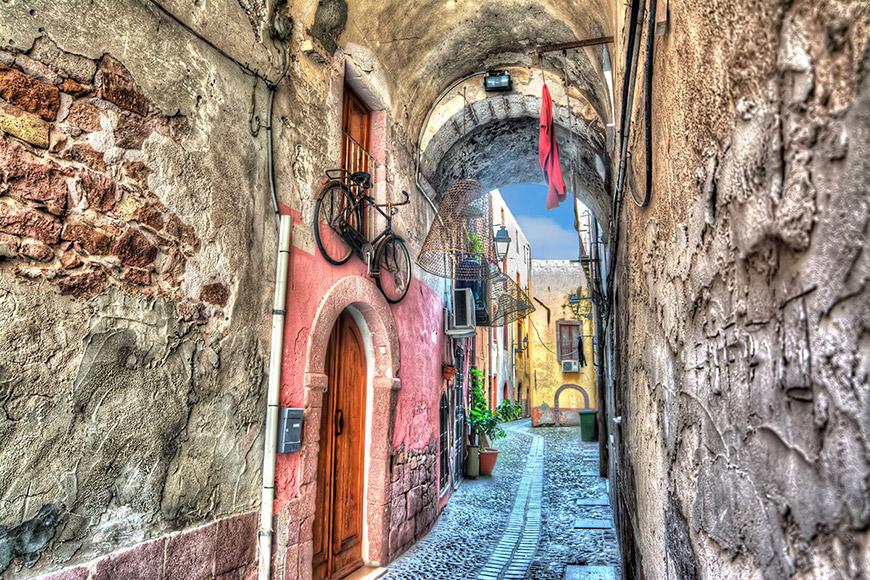 Италия, Сардиния, Боза